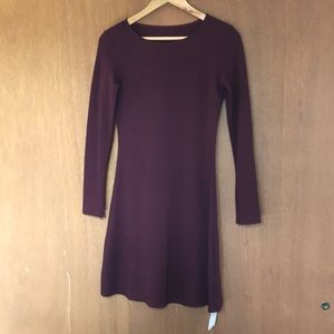 NWT American Apparel Maroon Dress Size M